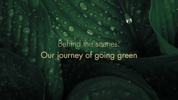 Sustainability: It's a journey