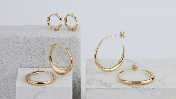 Sustainable 10 & 14 karat Gold