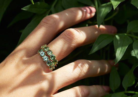Handpicking Sapphires