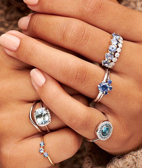 Precious Gemstone Rings